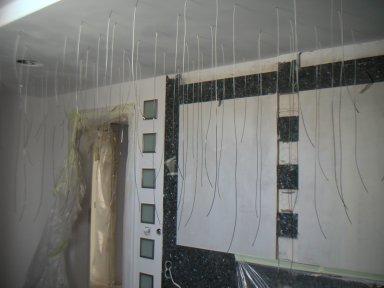 Apartament z niebiańską łazienką