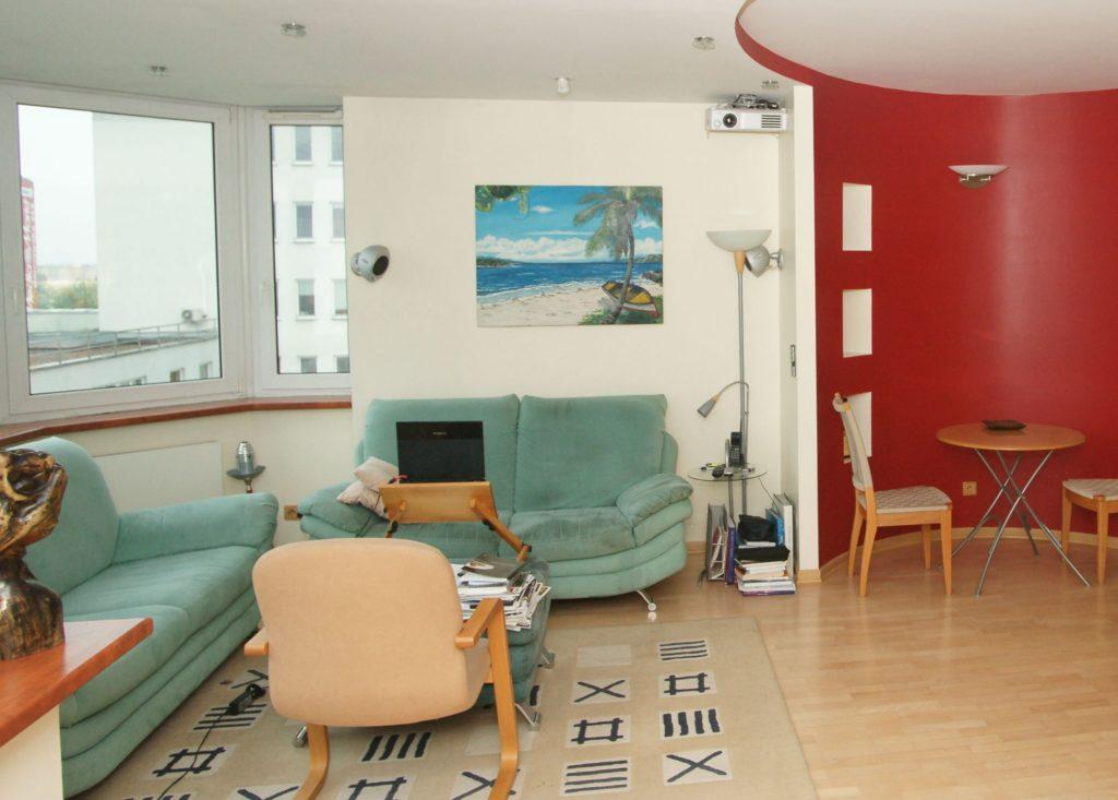 Zobacz Słoneczny apartament z systemem KNX - Inteligentny Dom Mieszkanie 80m2 Projektor 1024x733