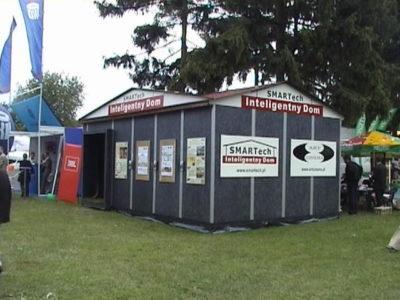 Domek pokazowy na Wielkiej Gali Business Centre Club