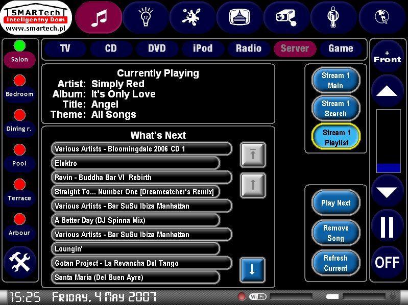 Zobacz KNX i Crestron - inteligentne sterowanie sprzętem audio/video - SMARTech Inteligentny Dom Panel dotykowy 12