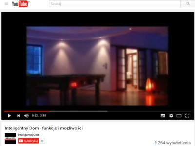 Filmy o Inteligentnym Domu na YouTube