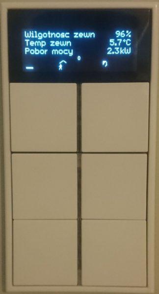 Zobacz Systemy KNX i Crestron – wspólne sterowanie oświetleniem, roletami, ogrzewaniem i klimatyzacją - knx przycisk wieloklawiszowy jung 324x600